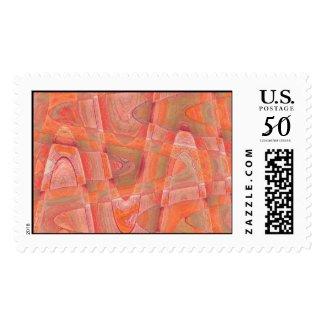 orange sherbert 1 postage