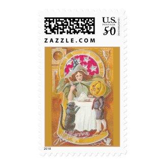 halloween card 3 bright stamp