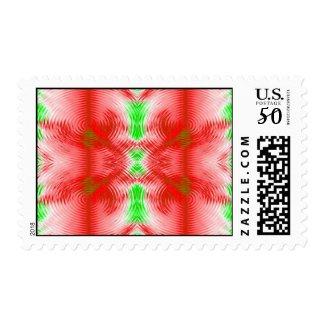 festive circles stamp