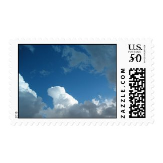 clouds stamp
