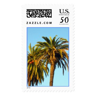 Palm Trees postage