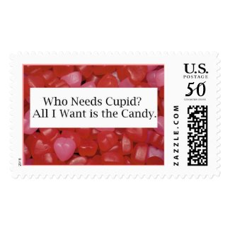 Cupid Candy stamp