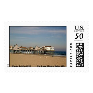 Old Orchard Beach, Maine, USA stamp