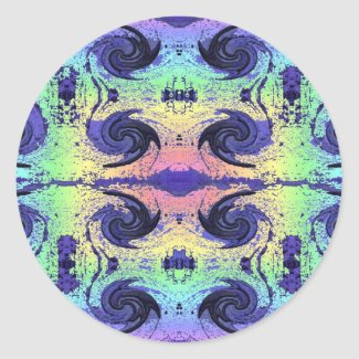 Pastel Swirl Sticker