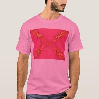 pink ripple shirt