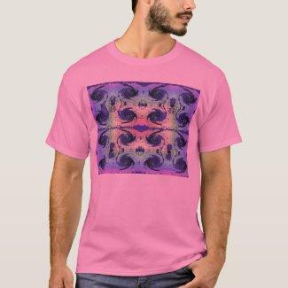 pastels and swirls shirt