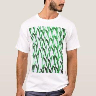 branches green shirt