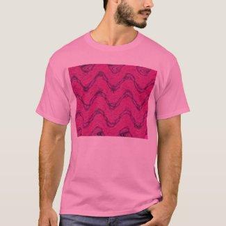 pink waves shirt