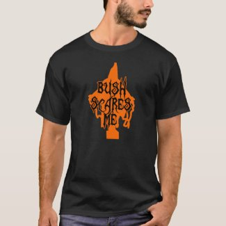 Halloween - Bush Scares Me t-shirt