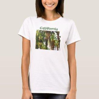 California Palm Tree Tshirt