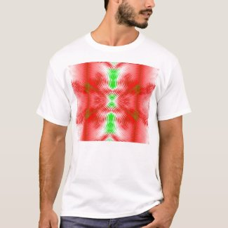 festive circles shirt