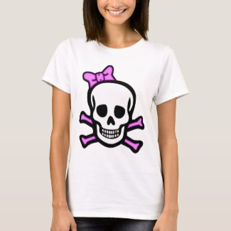 Ms. Skull & Crossbones with Gold Tooth shirt
