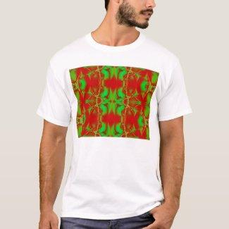 wild red green shirt