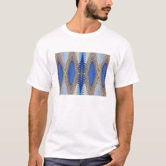 Blue Repeating Tshirt