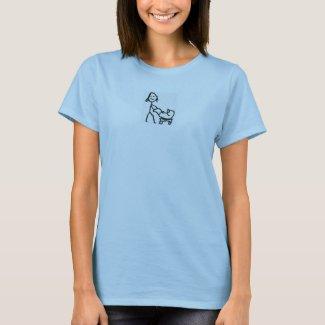 Rookie Moms Blue Tshirt